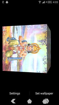 Hanuman Ji Cube Live Wallpaper apk screenshot