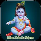 Krishna Ji Cube Live Wallpaper icon