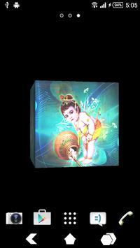 Krishna Ji Cube Live Wallpaper poster
