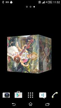 Saraswati Devi Cube LWP poster