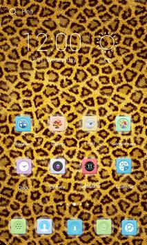 Love Cheetah Theme apk screenshot