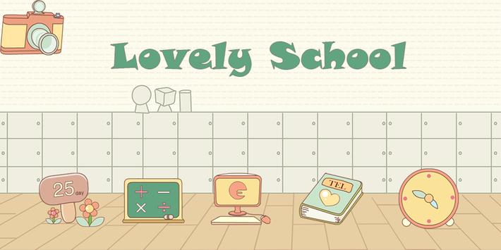 Lovely School-Solo Theme poster