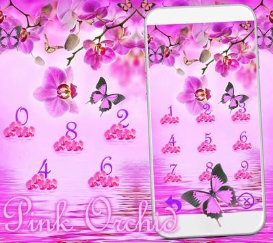 Pink Orchid Theme Wallpaper screenshot 8