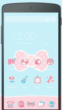 Pink Bow Solo Theme apk screenshot
