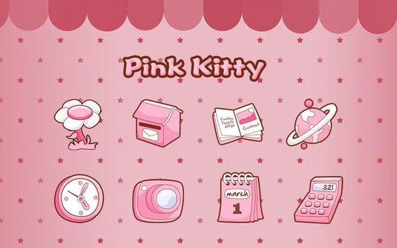 Pink Kitty Theme poster