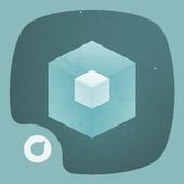 Flat Cubes Theme icon
