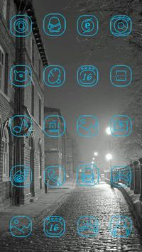 Cold Night Theme apk screenshot