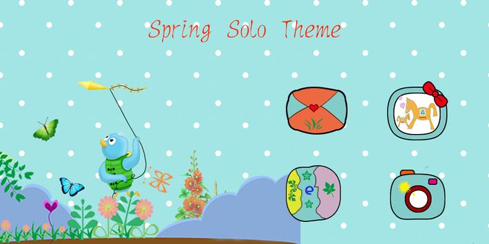 Colorful Spring Theme poster