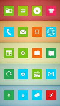 Colorful Square Theme apk screenshot