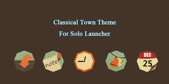 Classical Town Theme poster