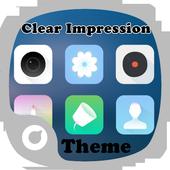 Clear Impression Theme icon