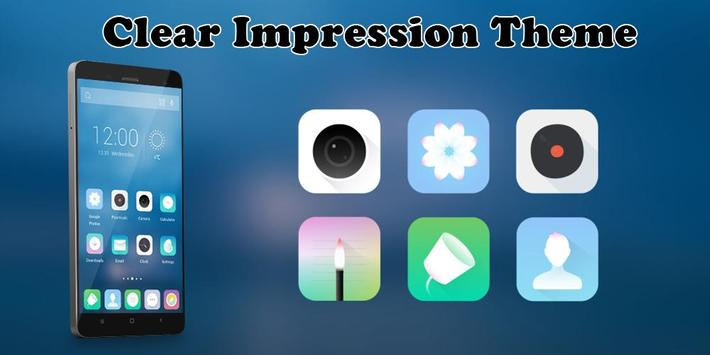 Clear Impression Theme poster