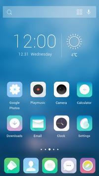 Clear Impression Theme apk screenshot