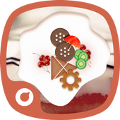 Cream Dessert Theme icon
