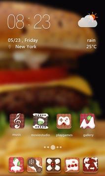 Cream Dessert Theme screenshot 1