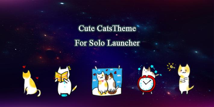 Cute Cats Theme poster