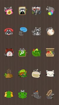 Cute Coon Theme apk screenshot