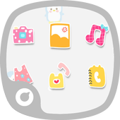 Cute Penguin Theme icon