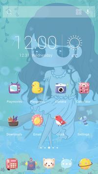 Cutey Theme apk screenshot
