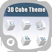 3D Cube Theme icon