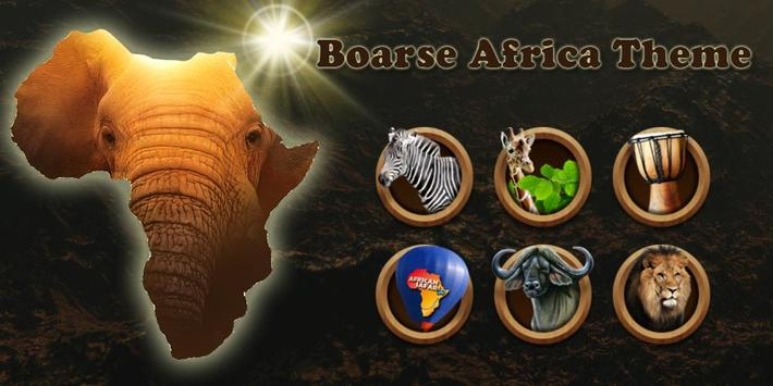 Boarse Africa Theme poster