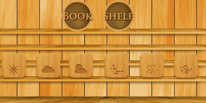 Bookshelf Theme poster