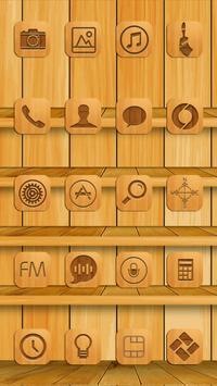 Bookshelf Theme apk screenshot