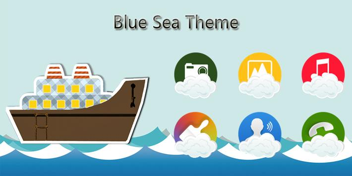 Blue Sea Theme poster