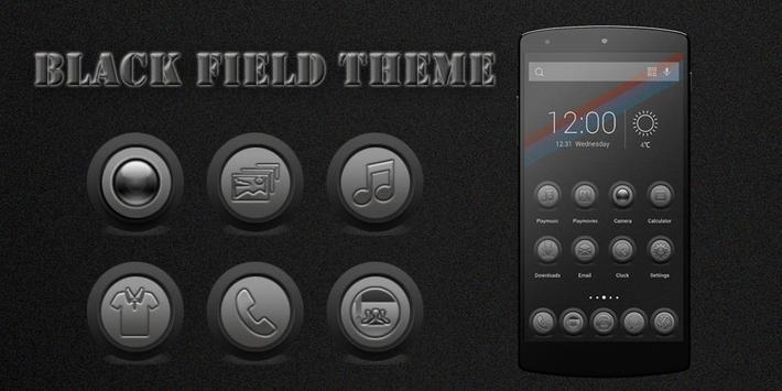 Black Field Theme poster