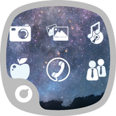 Bright Stars Theme icon