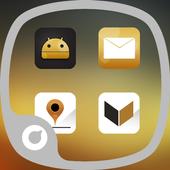 Golden Times Theme icon