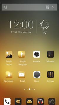 Golden Times Theme screenshot 1