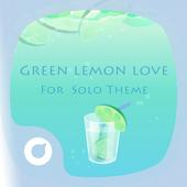 Green Lemon Love Theme icon