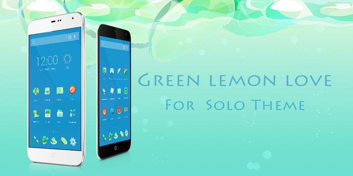 Green Lemon Love Theme poster