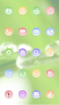 Green Water Theme apk screenshot