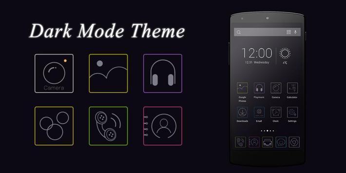 Dark Mode Theme poster