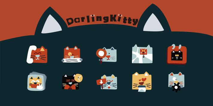 Darling Cat Theme poster