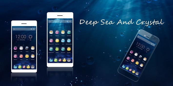 Deep Sea And Crystal Theme poster