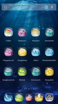 Deep Sea And Crystal Theme apk screenshot