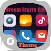 Dream Starry Sky Theme icon