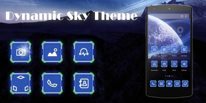 Dynamic Sky Theme poster