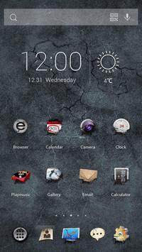 Earth Quake Theme apk screenshot