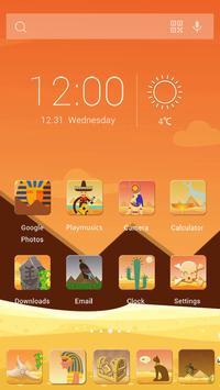 Egypt Style Theme apk screenshot