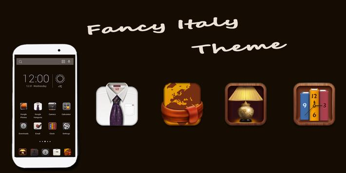 Fancy Italy Theme poster