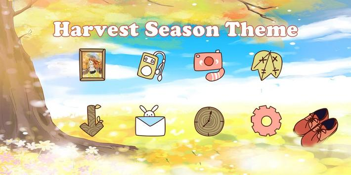 Harvest Season Theme poster