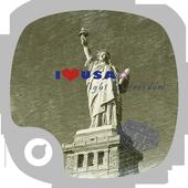 I Love Usa Theme icon