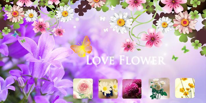 Love Flower Theme poster