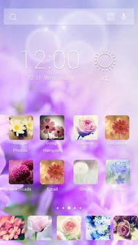 Love Flower Theme apk screenshot