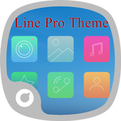 Line Pro Theme icon