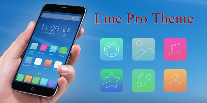Line Pro Theme poster